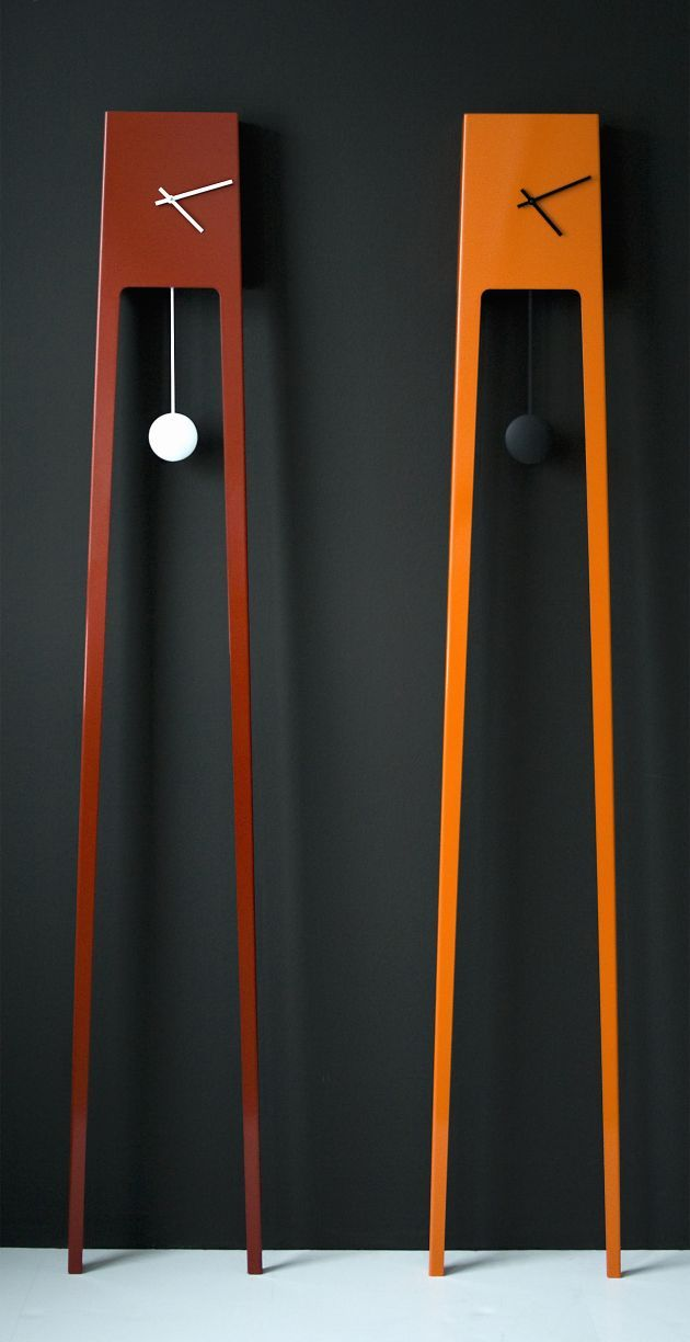Modern take on the Grandfather Clock I DON\u0027T LIKE THIS CLOCK, BUT