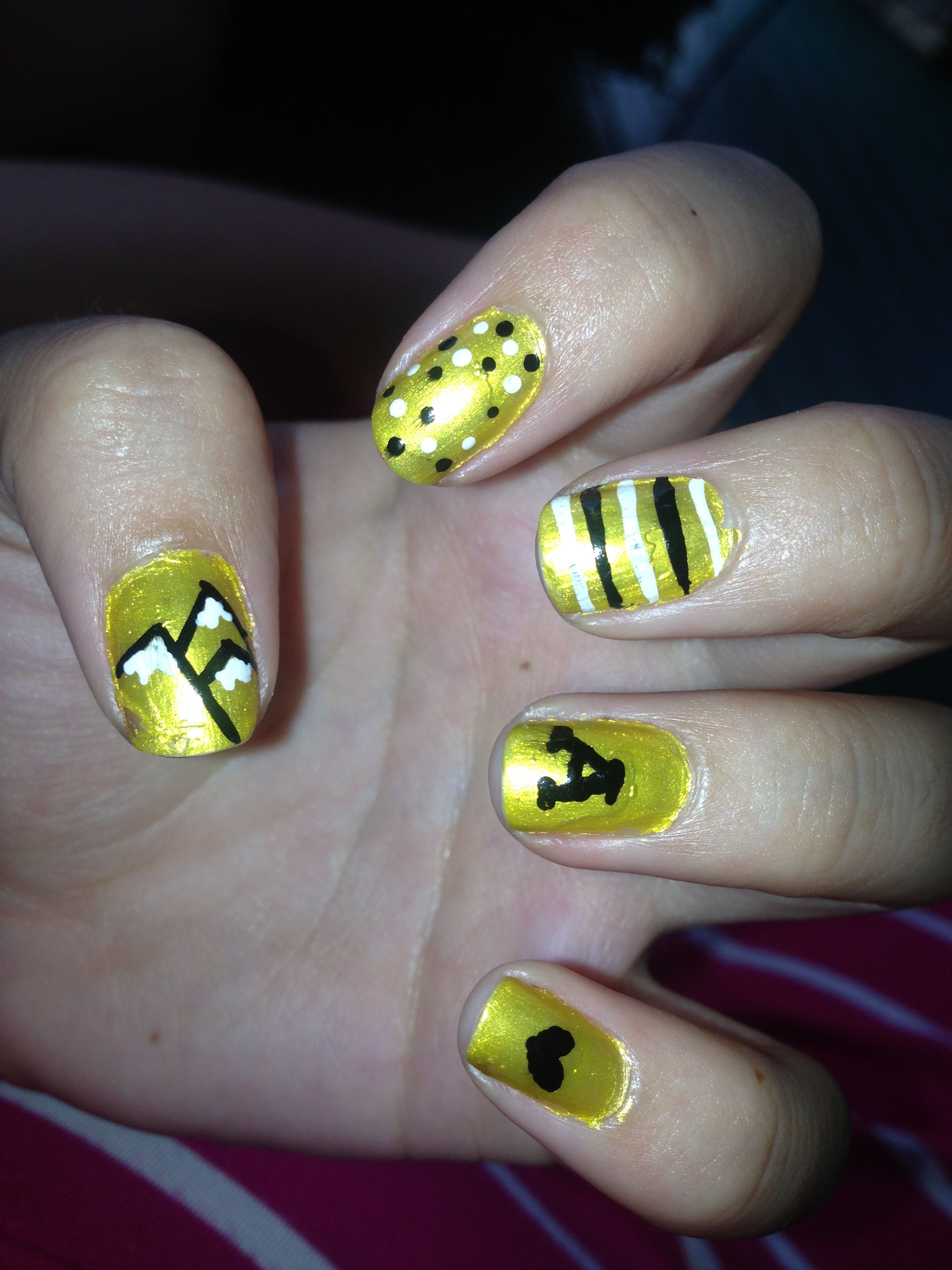 App State Nails :) | college maybe? | Pinterest | App