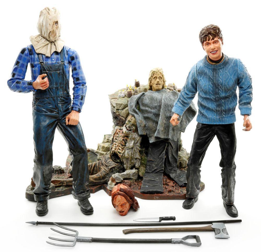 "Neca Friday The 13th-Jason parte 3 /& Jason parte 4-7/"" Action Figure 2-Pack"