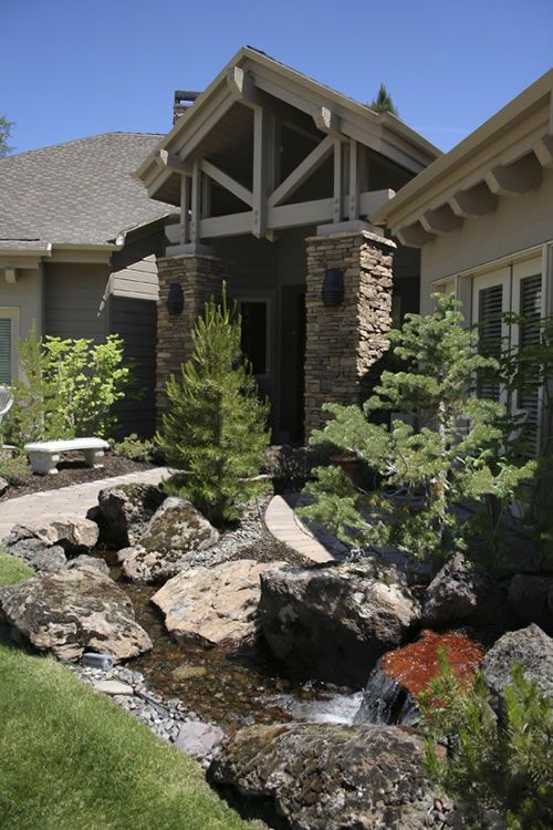 Amazing Landscaping Its Like A Forest Out Your Front Door The Luxury