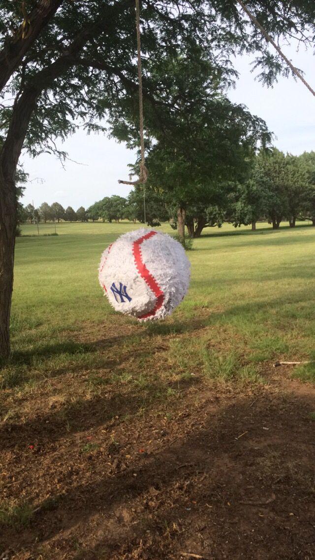 New York Yankees Pinata Yankees Birthday Party Decorations 8th Birthday