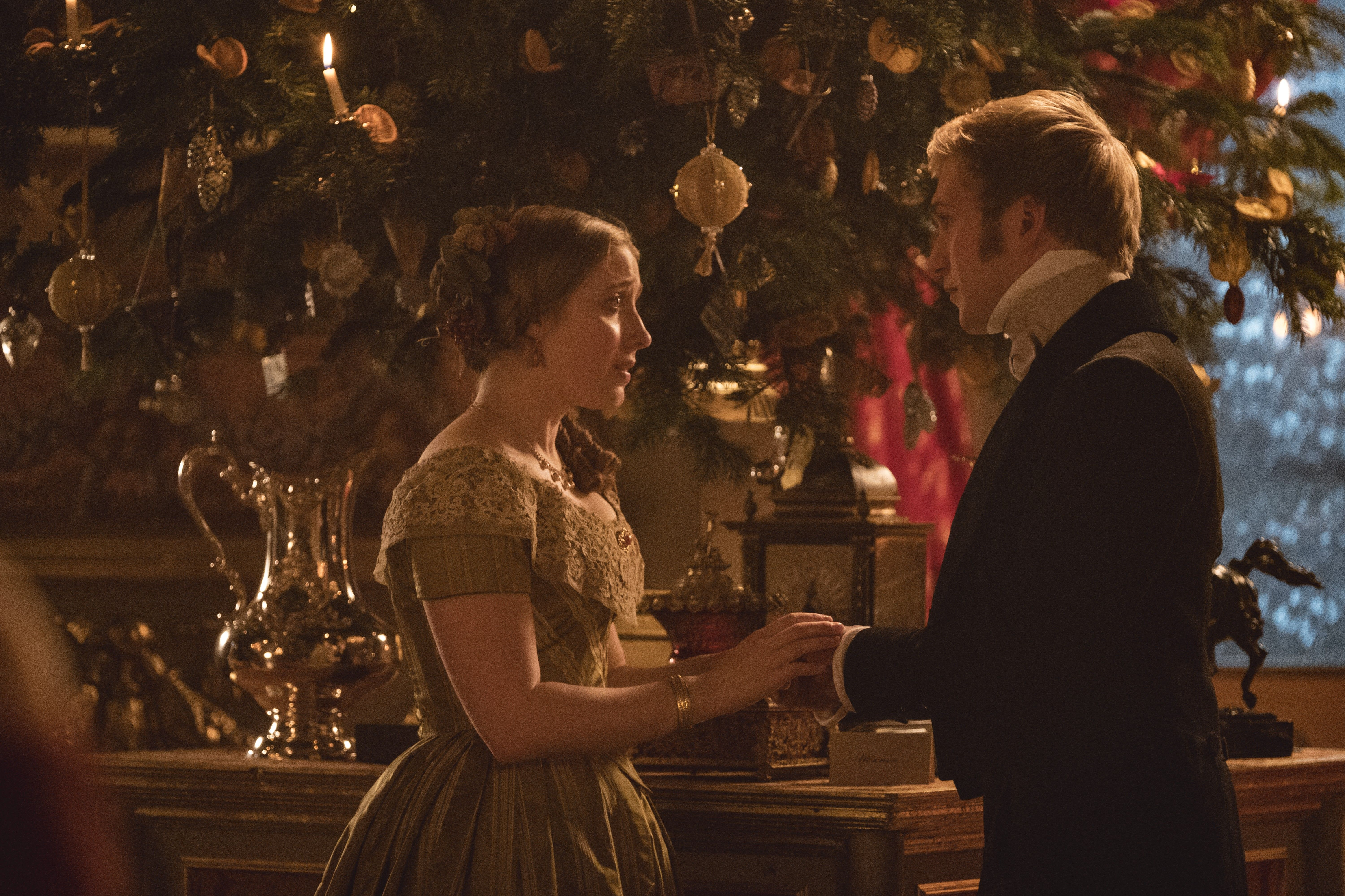 Promotional Still From The Victoria 2017 Christmas Special Comfort And Joy Victoria Tv Show Victoria Series Victoria Masterpiece