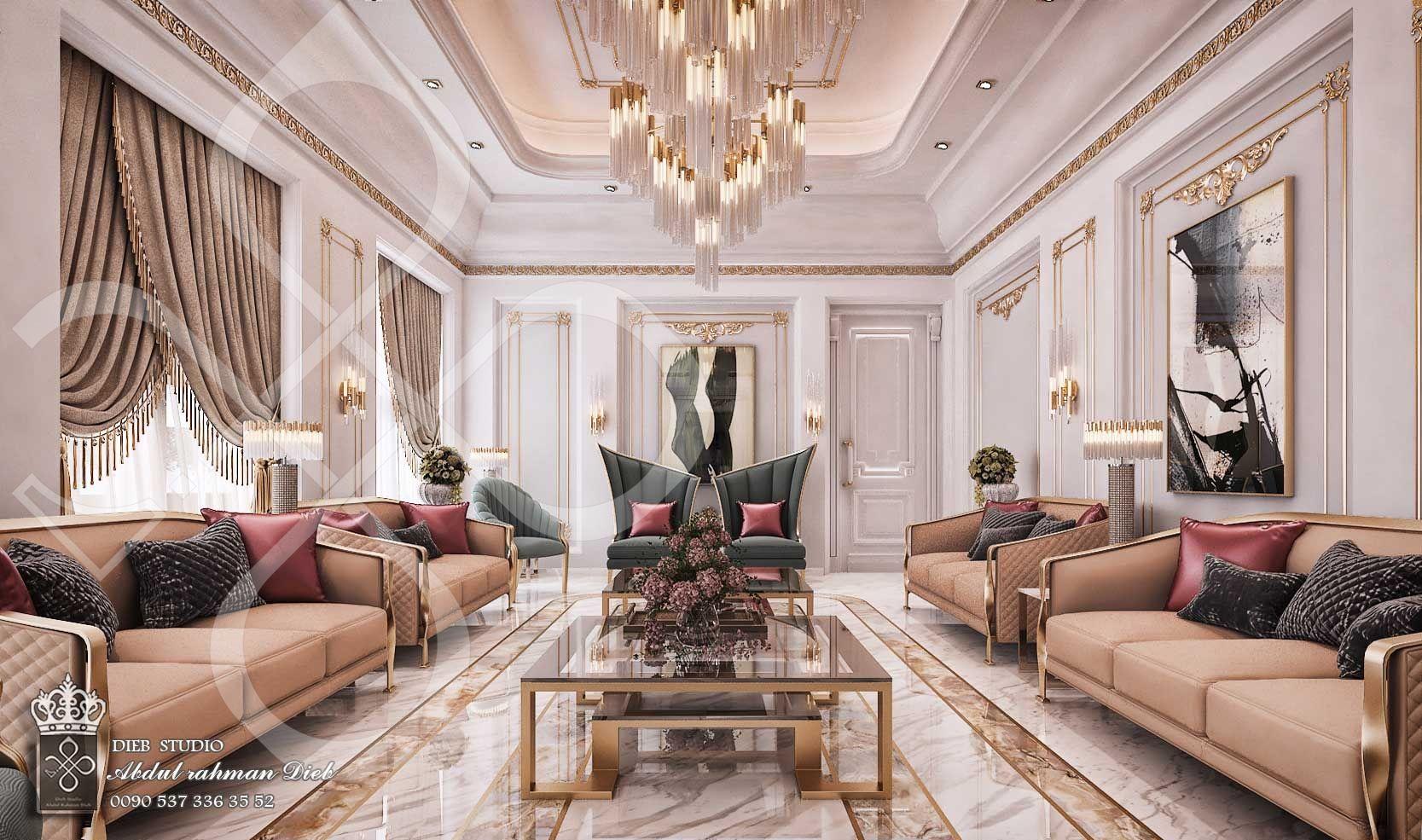 Men Majles In Modern Style Ksa Elegant Living Room Design Luxury Living Room Design Majles Design Modern Elegant classic luxury room
