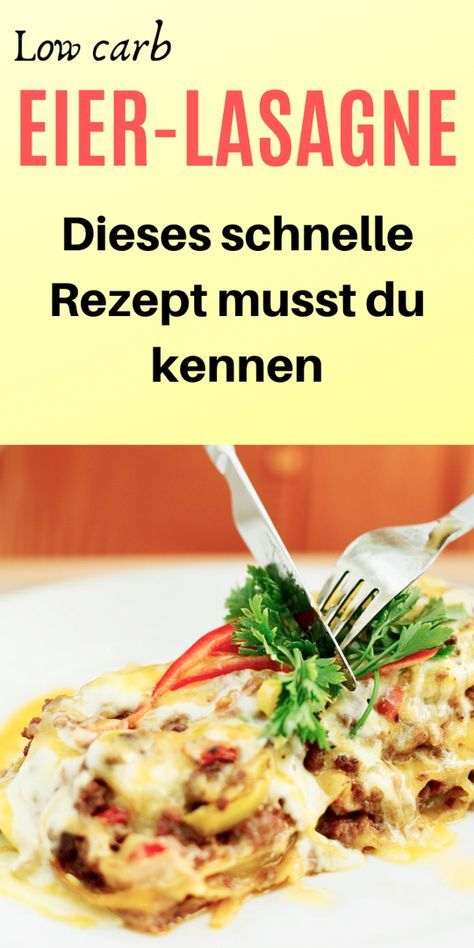 Photo of Low Carb Eierlasagne – Ideales Mittagessen – Low Carb Held