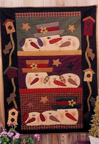 Simple Christmas ideas. Would be quick to make! … | Pinteres… : quilting crafts - Adamdwight.com
