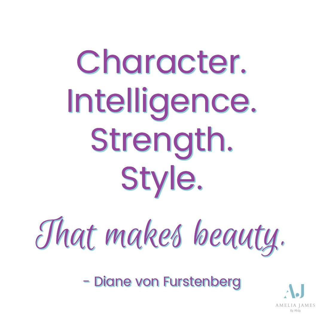 Character Intelligence Strength Style That Makes Beauty Quotes Success Inspirational Quote
