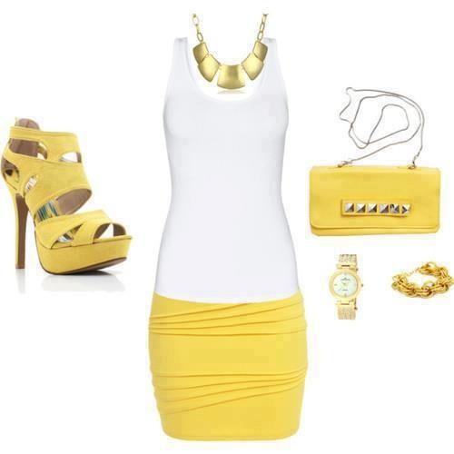 #Unique #women #dresses #yellow