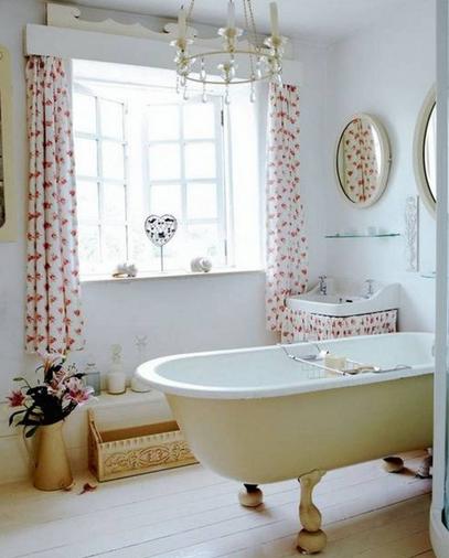 pour vous aider russir lhabillage de fentres de votre salle de bain quelques ides et conseils dco pour bien choisir vos stores et rideaux - Fenetre De Salle De Bain