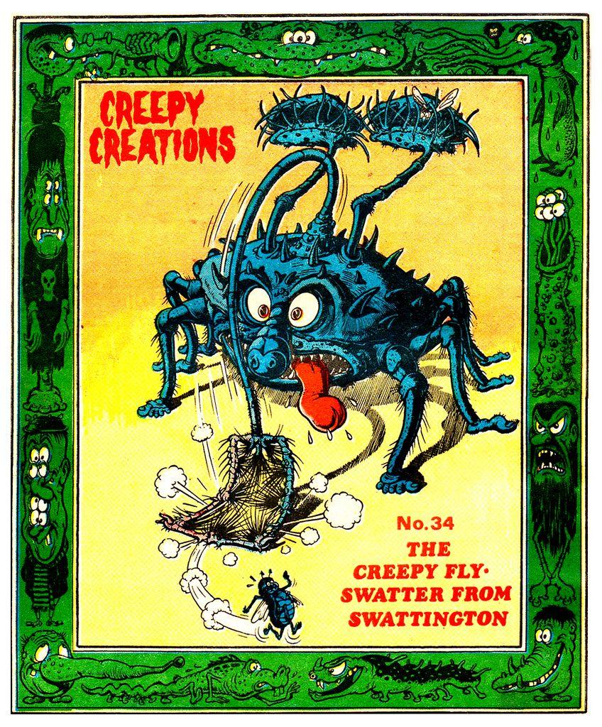 Creepy Creations No.34 - The Creepy Fly Swatter From Swattington