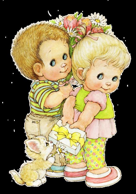 Детки маленькие рисованные картинки