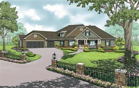 The Delaware C House Plan For Gainesville Ga House Plans Custom Home Plans Ranch Style Home