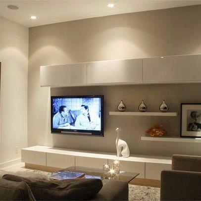 Mueble Modular Rack Para Led Smart Tv Minimalista Progetto Smart - mueble minimalista