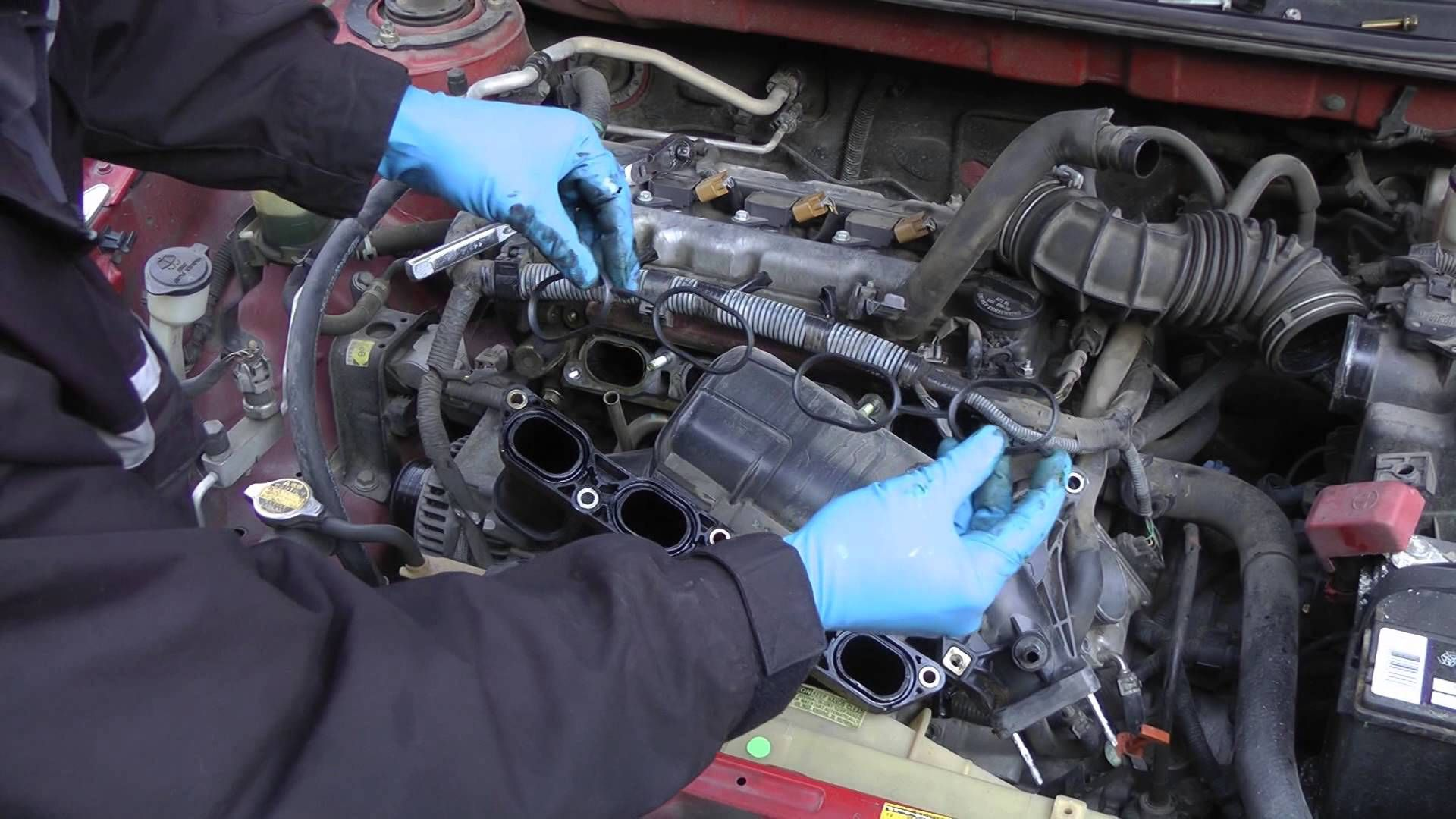 Engine fixing a hesitating car p0171 code