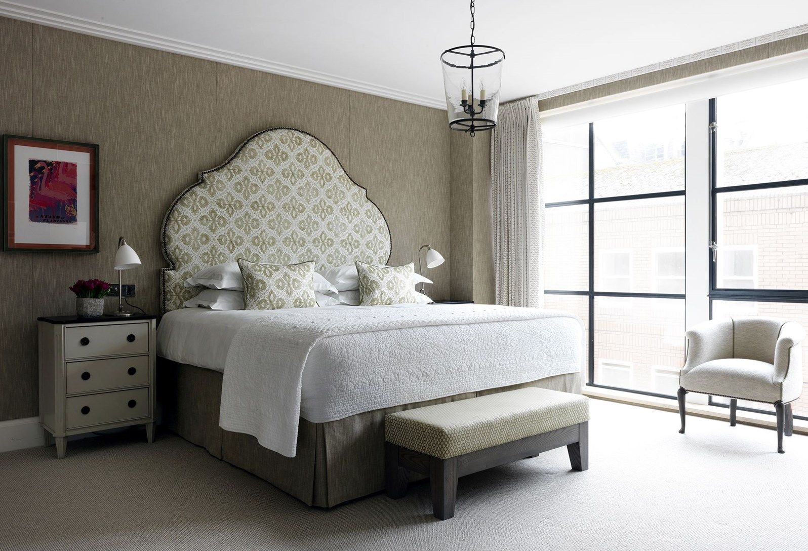 Firmdale Hotels Apartment 15 Bedroom interior, 2