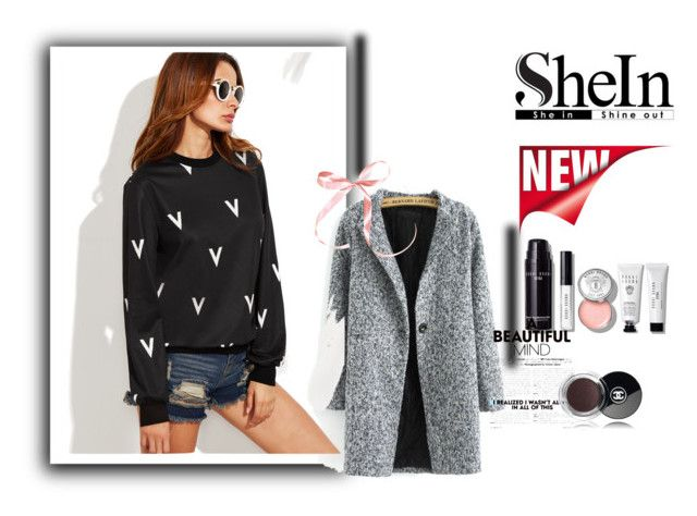 """""""Shein contest"""" by korisnica-kori ❤ liked on Polyvore featuring Bobbi Brown Cosmetics and Chanel"""