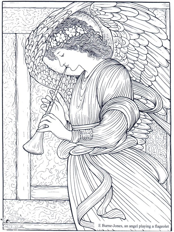 adult coloring page   coloring pages for grown ups I ♡ Adult - copy coloring pages of joseph and the angel