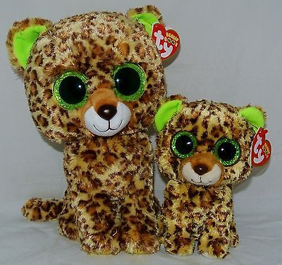TY Beanie Baby Boos Set of 2 SPECKLES w glitter-sparkle eyes 6