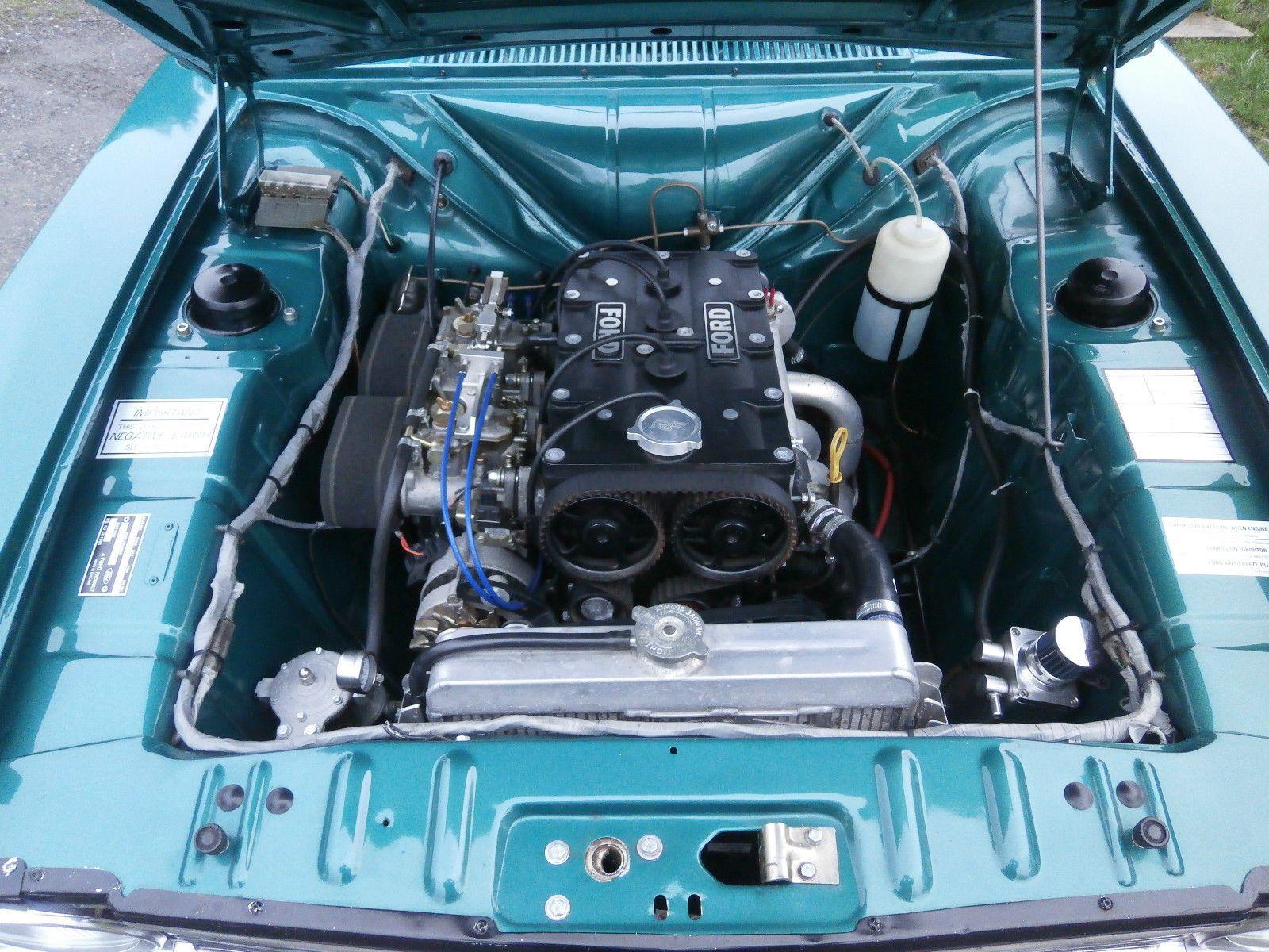 1969 G Ford Cortina Mk2 Gt 2 Door 2 0 Zetec 150bhp Aqua Jade