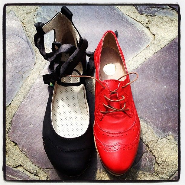 Mes nouvelles chaussures : #elnaturalista, #bullboxer