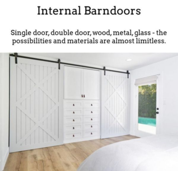Barn Door Track And Rollers Glass Barn Doors For Sale