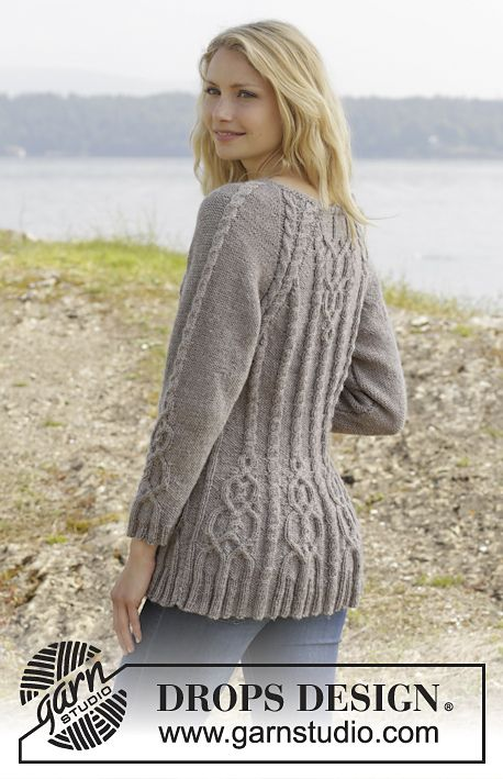 Bien connu Ravelry: 156-4 Alana Cardigan by DROPS design | Knit - Sweaters  AO37
