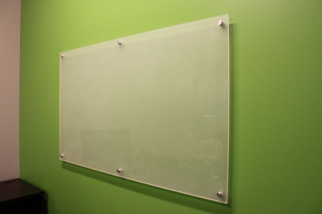 Whiteboard Ikea canvas of how to easy and tidy office with glass whiteboard