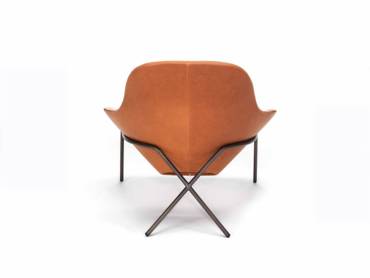 Comfortable Leather Lounge Chair Cross Leg Chair By Magnus Long Leather Lounge Chair Chair Leather Chair