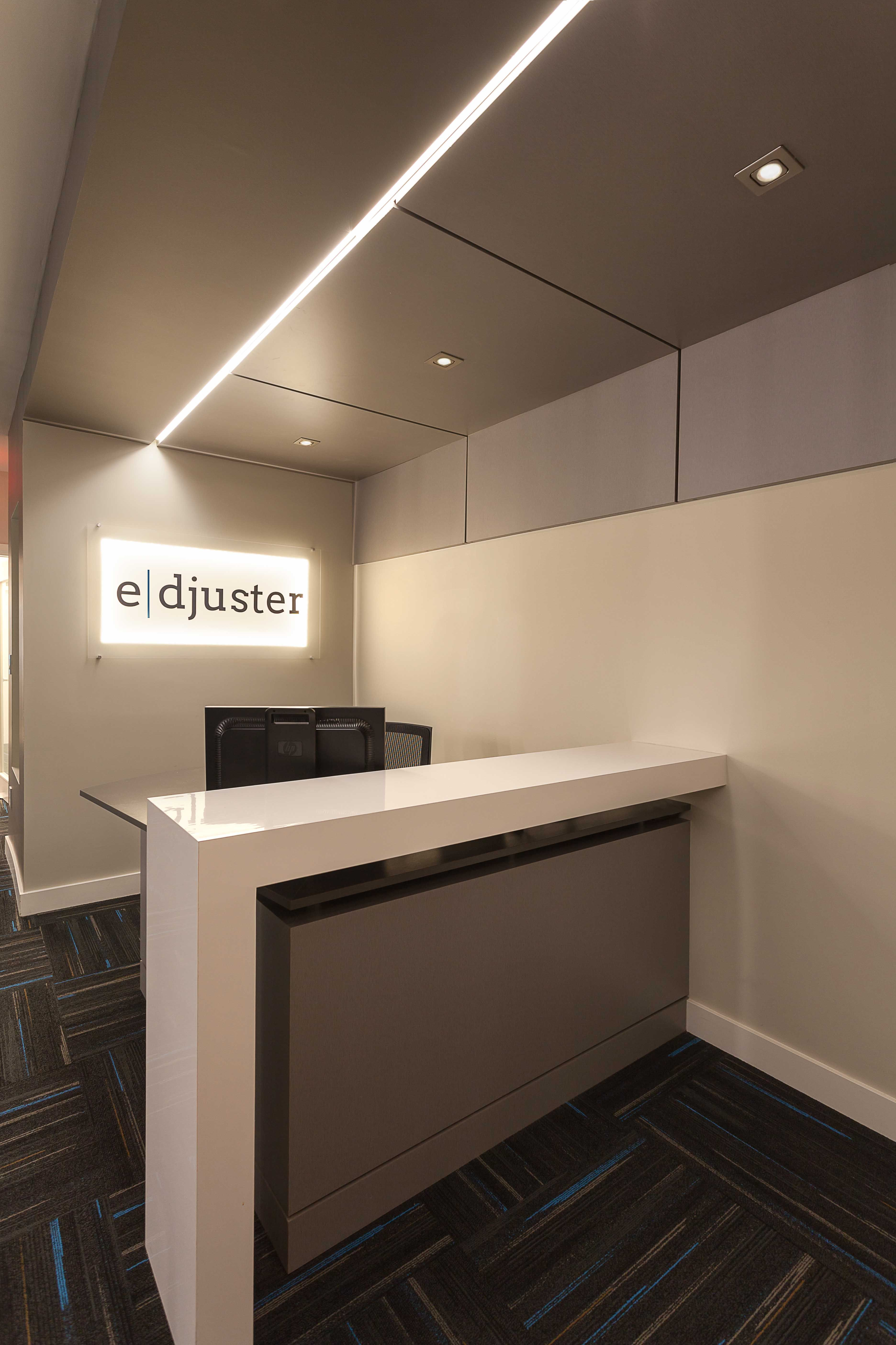 Small office design in Ottawa. #Design: Penny Southam #commerial ...
