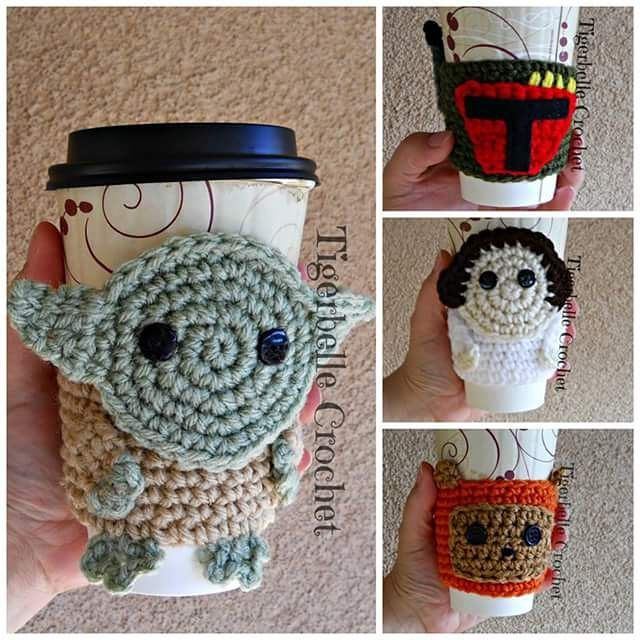 Pin de Darla Wischmann en crochet can/bottle/mug cozy patterns to ...