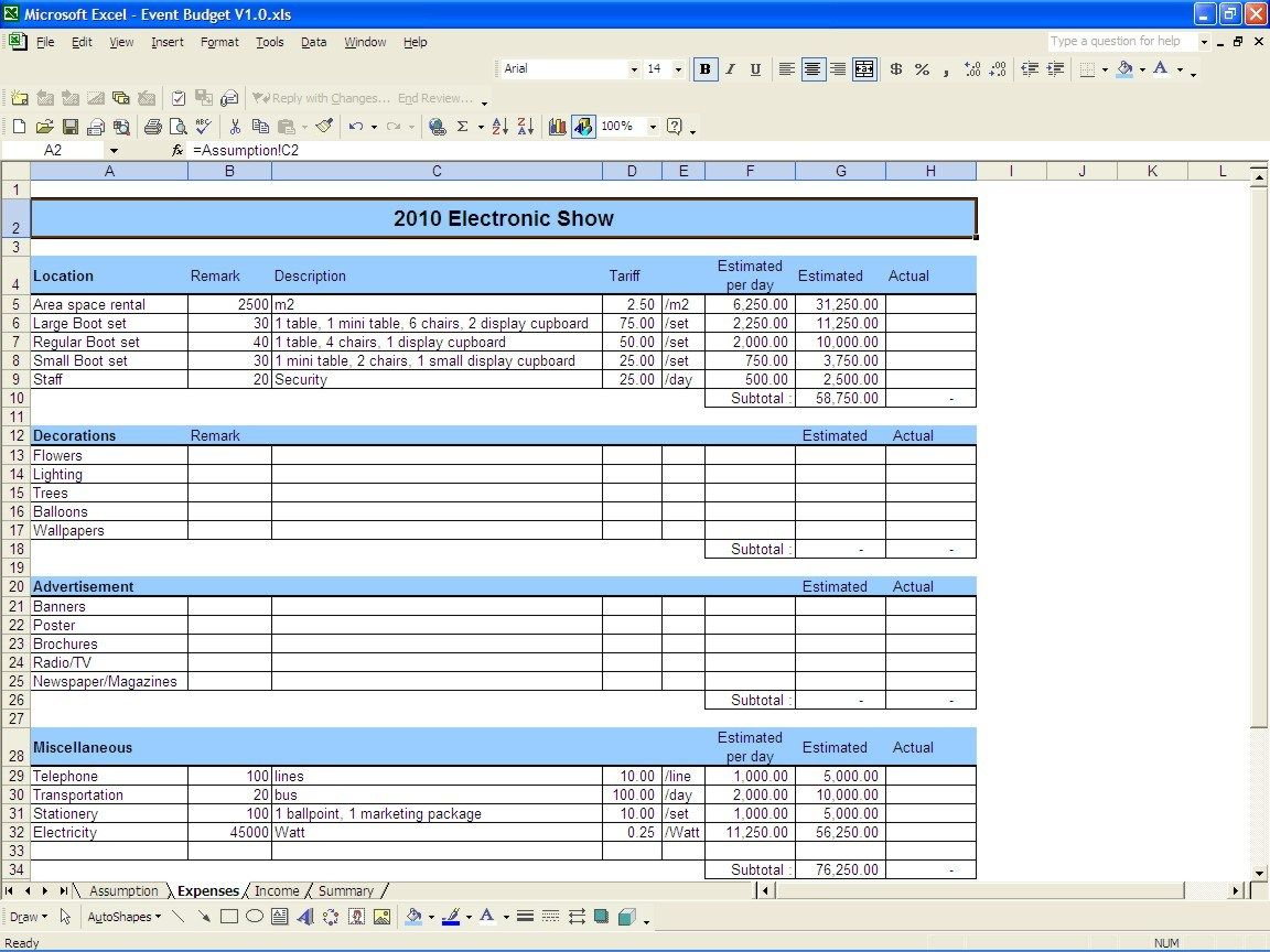 The Appealing Expense Report Template Excel Templates