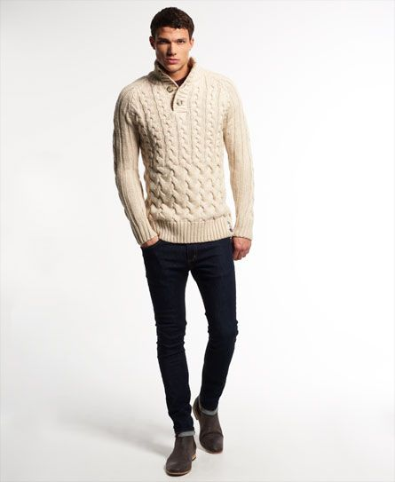 Superdry Ultimate Cable Henley Pulli
