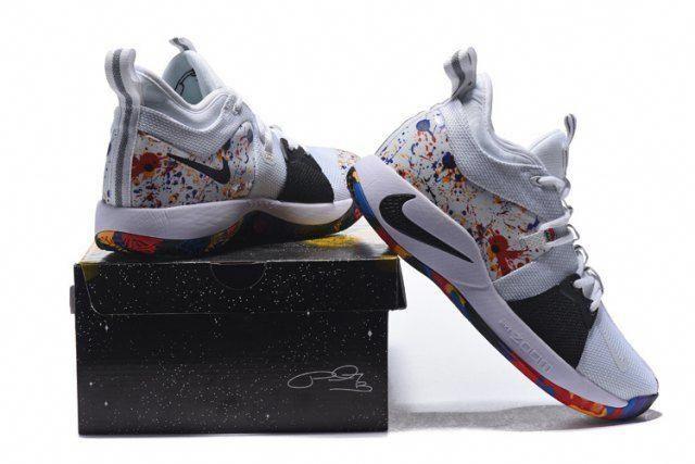 5aa2f78091ee40 Nike Zoom PG 2 Color Black White Men's Basketball Shoes #basketballshoes