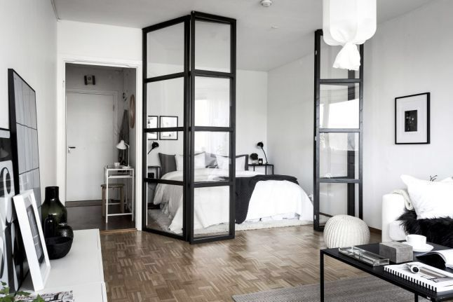 50 Modern Studio Apartment Dividers Ideas 8 Jpg 646