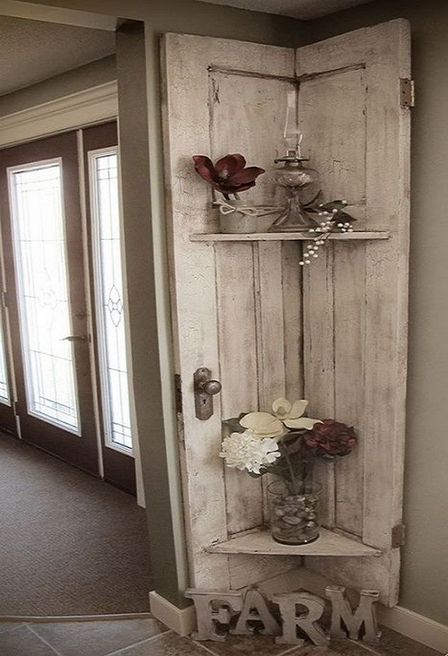 50 amazing vintage farmhouse decor 31 barn door decor on fantastic repurposed furniture projects ideas in time for father s day id=34425