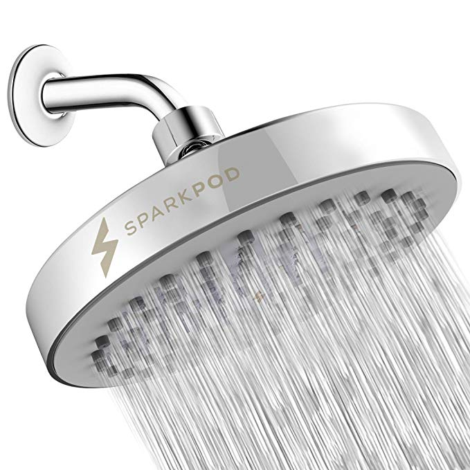 Sparkpod Shower Head High Pressure Rain Luxury Modern Look