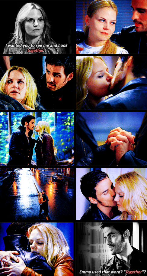 """My boyfriend? Hook?""<3<3<3<3<3<3<3"