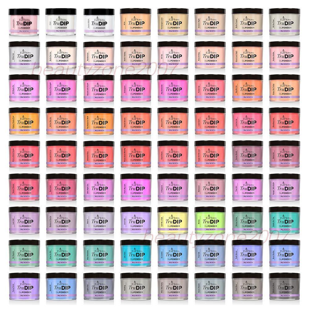 Details about EzFlow TruDIP Dipping Color Powder 2oz/56g