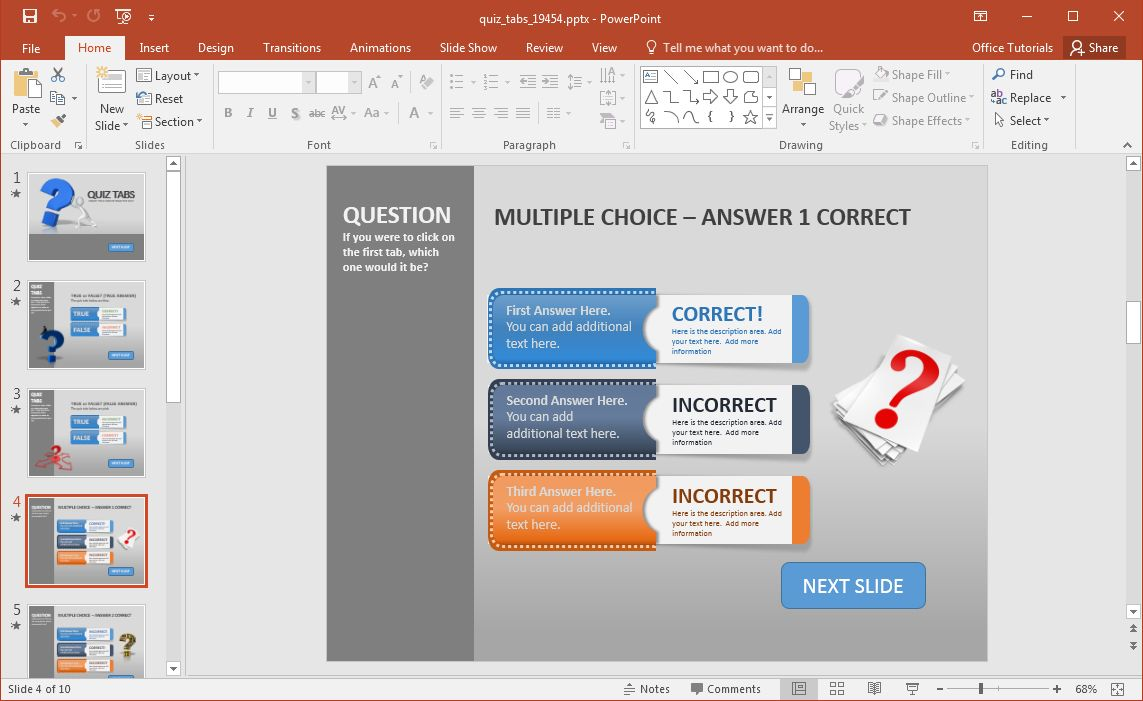 Animated Powerpoint Quiz Template For Conducting Quizzes Regarding Powerpoint Quiz Template Free D Powerpoint Quiz Template Powerpoint Template Free Powerpoint
