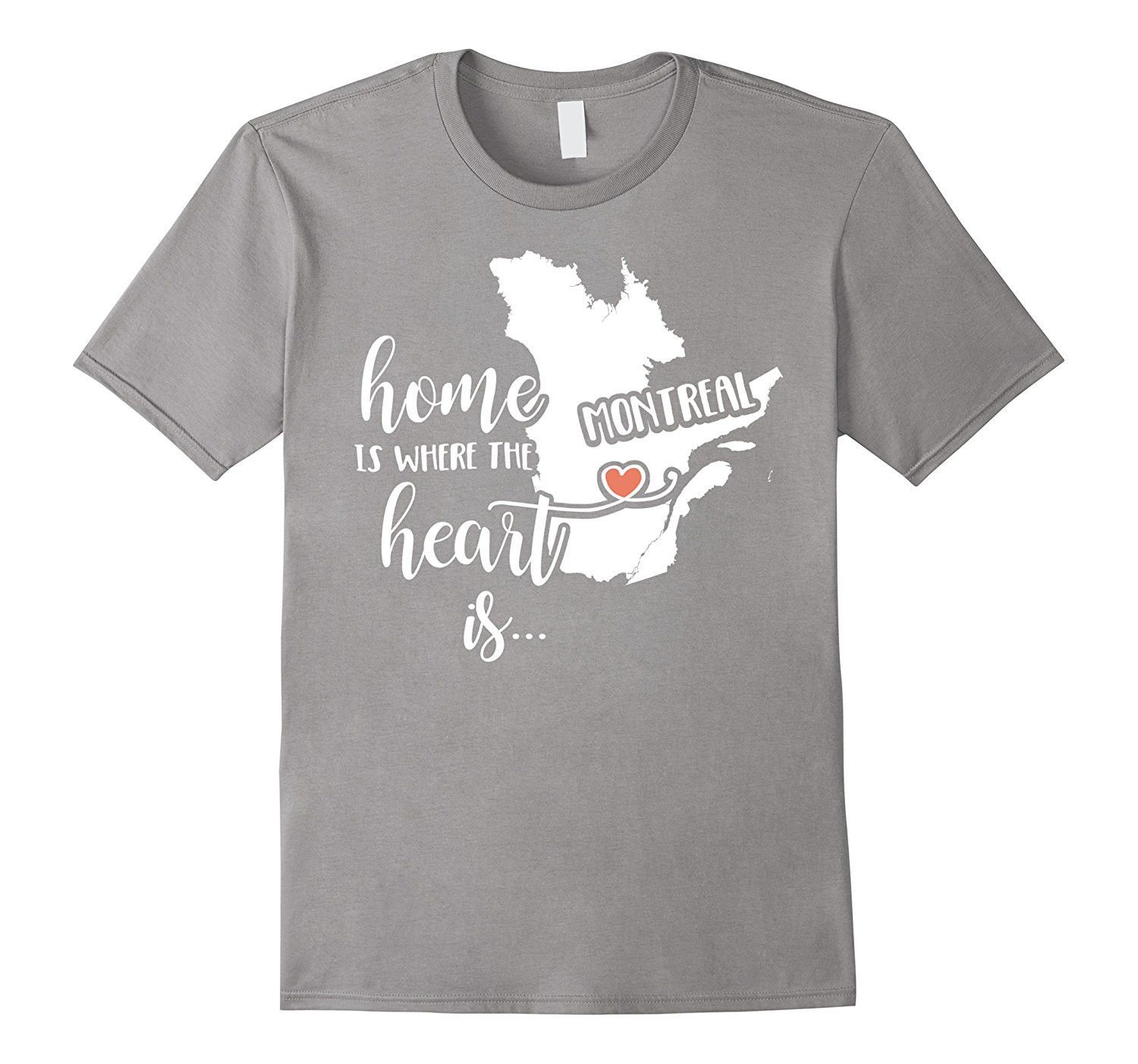 Montreal home t shirt home is where the heart is heather grey montreal home t shirt home is where the heart is negle Images
