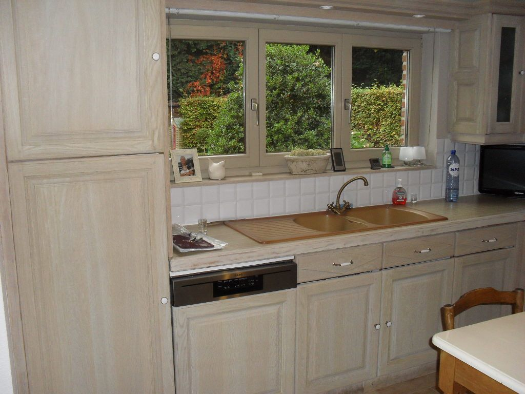 Eiken Keuken Renovatie : een gezandstraalde eiken keuken Mooi! keuken Pinterest