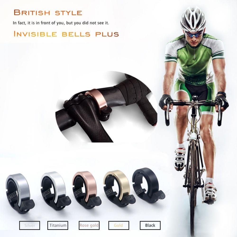 Invisible road bike bells plus 31.8mm Handlebar Clamp Ring