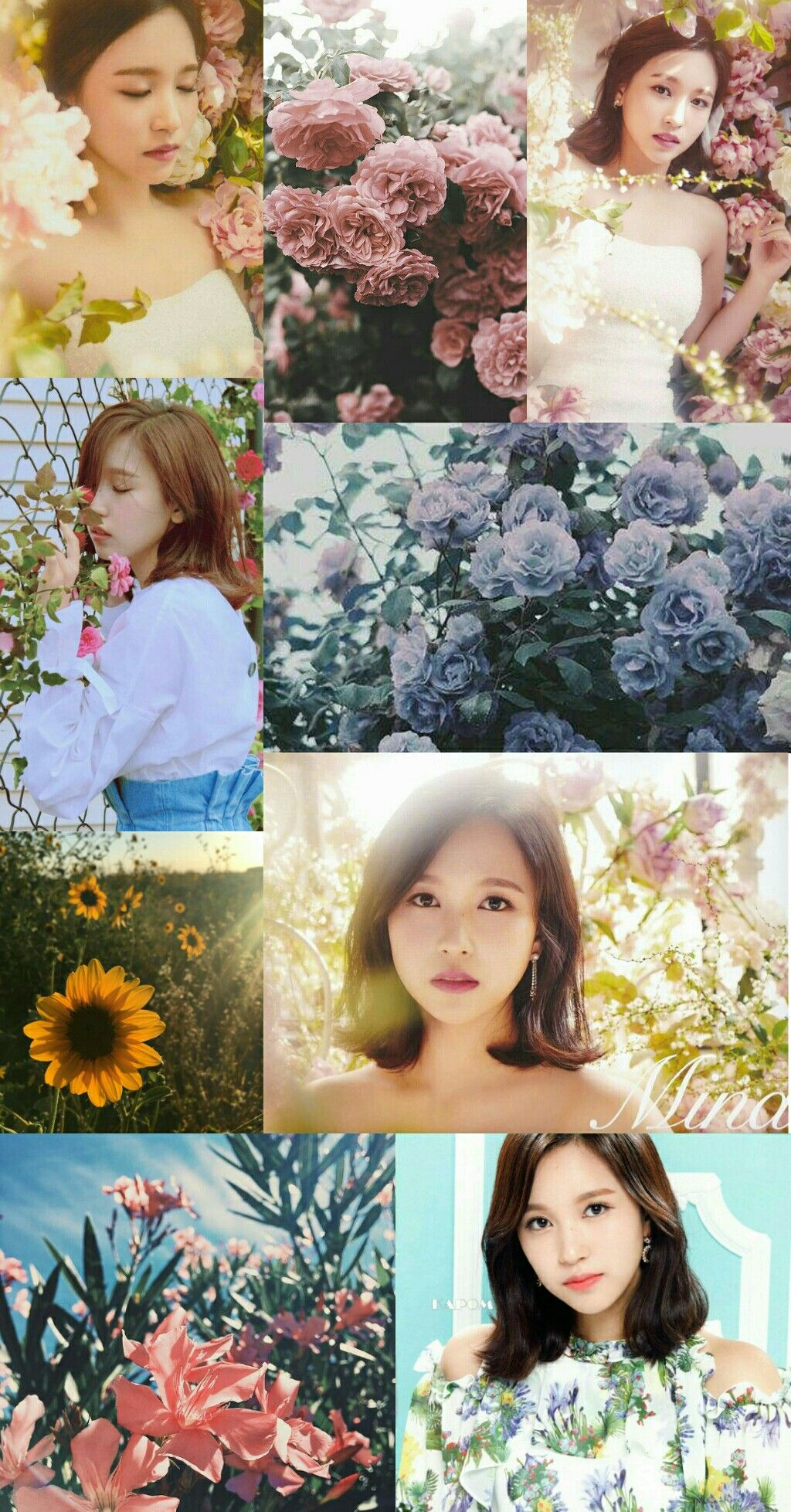Mina Twice Flower Aesthetic