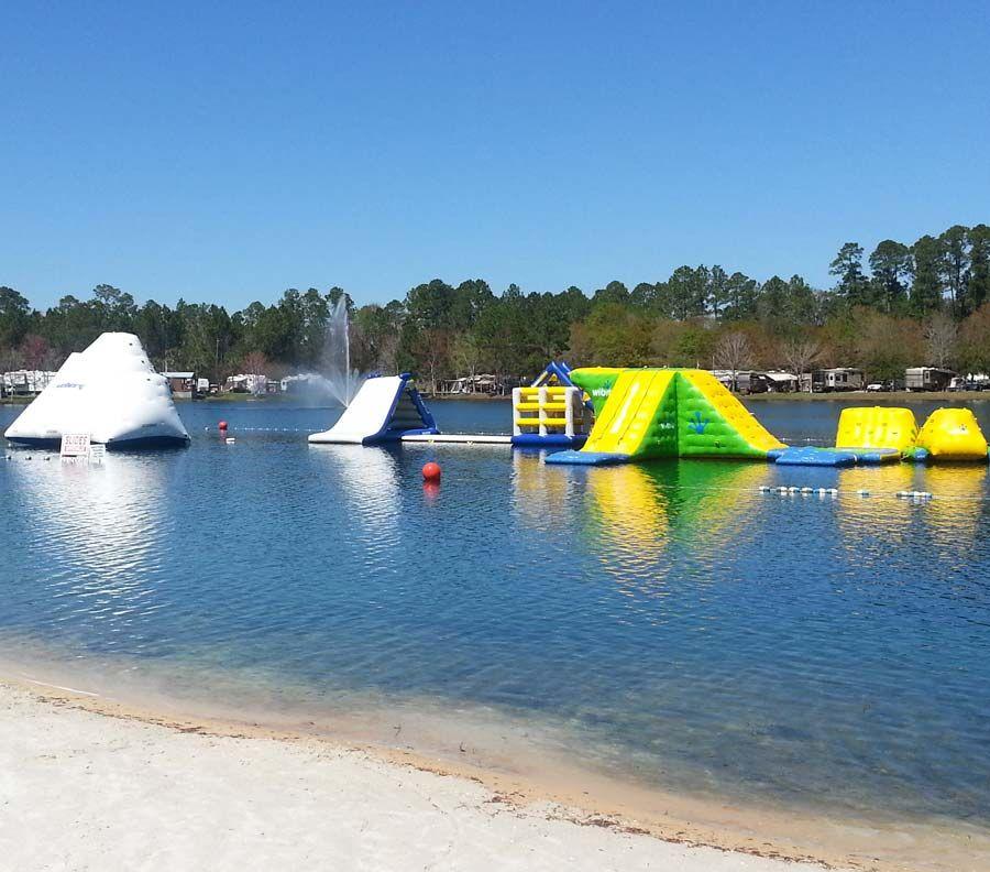 Amenities Of Flamingo Lake Rv Park In Jacksonville Fl Best Rv Parks Rv Parks Lake