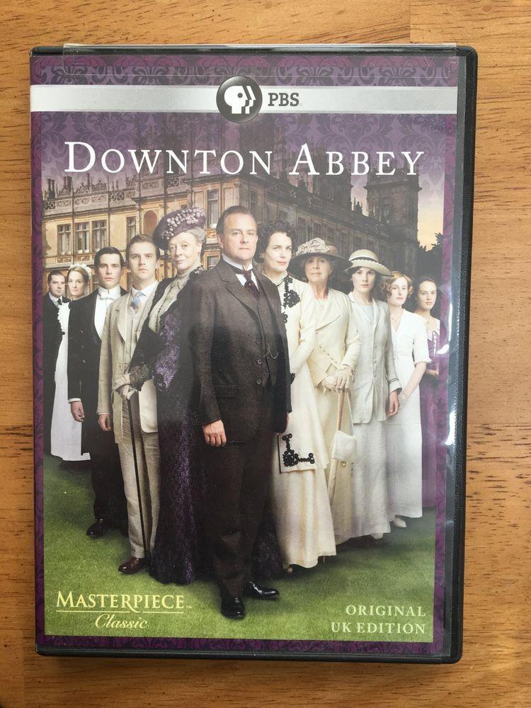 Downton Abbey Season 1 Original Uk Edition Masterpiece Classic Pbs Dvd 3 Discs Downtonabbey Downton Abbey Season 1 Downton Abbey Downton