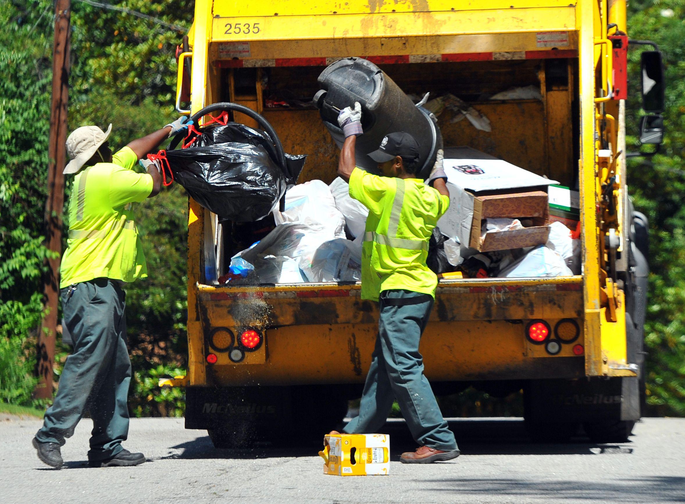 dekalb sanitation workers seek union wwwajccom - Sanitation Worker Job Description