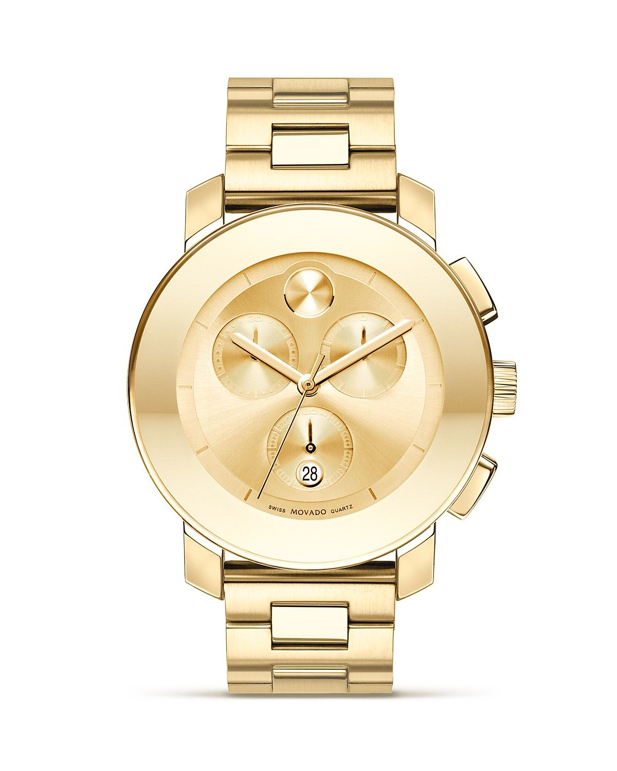 movado bold medium chronograph stainless steel watch 38mm 850 movado bold medium chronograph stainless steel watch always wanted a gold men s