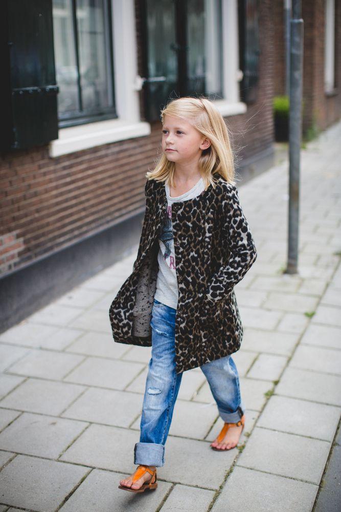 cd1697afa842fd Kinderkleding Hippe.Kindermodeblog Nl Hippe Kinderkleding Meisjes Panter  Jas Vest Little