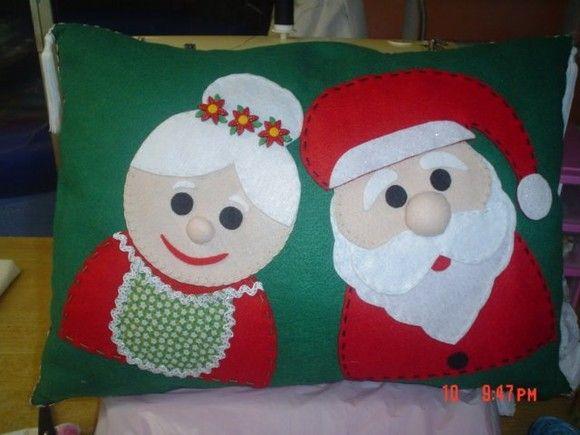c5f5d59828de79 Capas para Almofadas - Natalinas | Christmas Crafts | Almofadas de ...