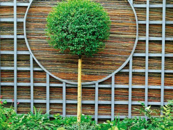 Bambus Sichtschutz - schön und öko-freundlich! - Archzine.net #bambussichtschutz