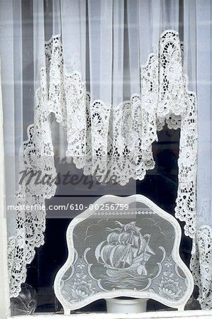 The Netherlands Amsterdam Lace Curtains